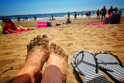 Fe im Sand